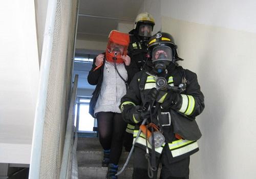 Расчет времени эвакуации людей при пожаре
